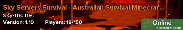 Banners of Sky Servers Survival - Largest Australian