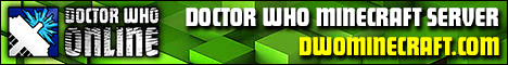 DWO Doctor Who Minecraft Server