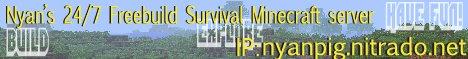 NyanCat 24/7 Survival Freebuild
