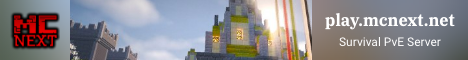 MCNext | Survival Server