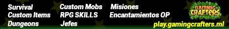 GamingCrafters - Survival Custom RPG