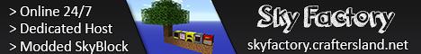 SkyFactory2 by CraftersLand - [Modded SkyBlock | Economy |