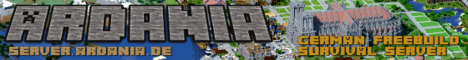 ⛏Ardania - Dein Freebuild/Survival Server