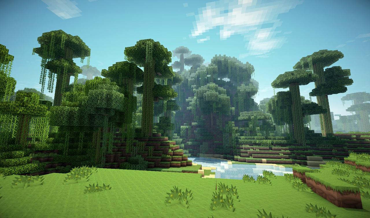 Beautiful Wallpaper Minecraft Forest - minecraft_forest  Graphic_391613.jpg