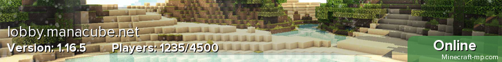 ManaCube ★ Survival ★ Skyblock ★ Factions ★ Prison ★ Creative ★ KitPVP ★