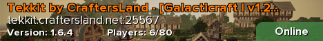 Tekkit by CraftersLand - [Galacticraft | v1.2.9g]