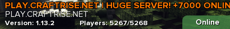 PLAY.CRAFTRISE.TC | +2500 online! (English/Türkçe Language Support)